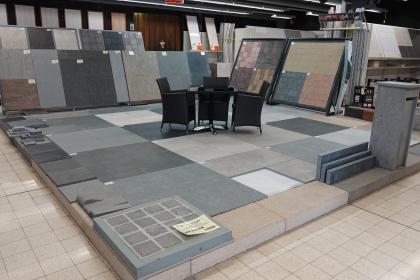 Salle d'exposition